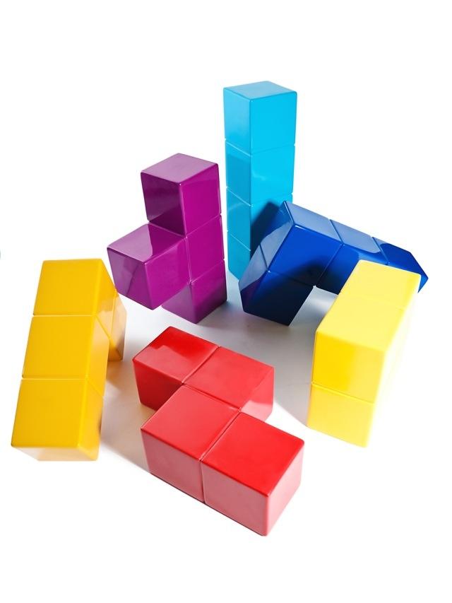 Silla Tetris | Gabriel Cañas #MexicanDesign