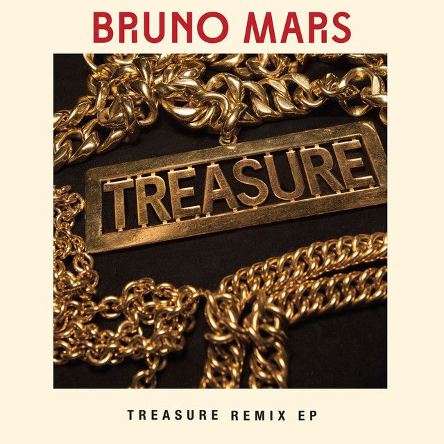 """""""Treasure - Audien Radio Edit"""" by Bruno Mars was added to my Discover Weekly playlist on Spotify"""