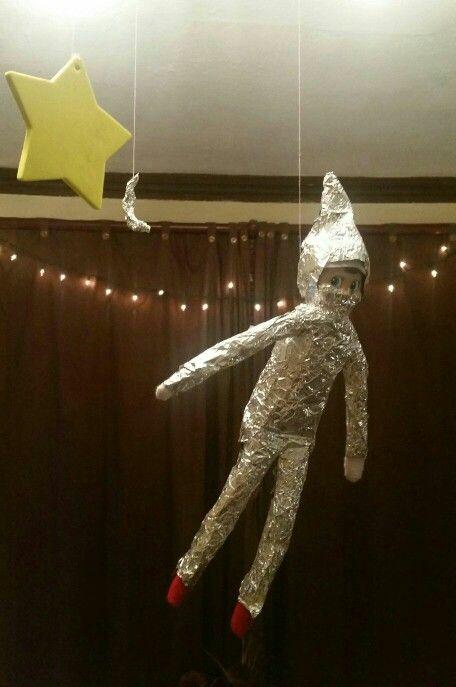Astronaut Elf on the Shelf