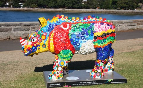 Look out for these Arsty Rhinos while on holiday.  They are dotted all over Sydney in prominent places.