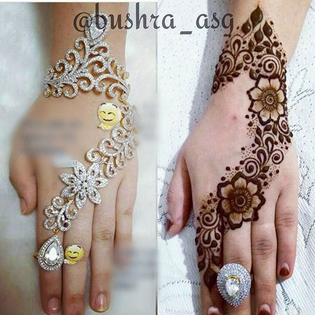 A simple design inspired by this beautiful hand cuff.. #henna#hennadesign#hennatattoo#hennavideo#hennavideos#hennainspiration#hudabeauty#gulfhenna#hennapro#mehandi#weddinghenna#hennacandle#hennacandleset#mehndi#mehndidesign#mehendi#mehandi#bridalhennaartist#bridalcare#wedding#weddinghenna#instapic#instashot#instafun#hennacandles#mehndicandleset#thaals#candle#hennacandles#hennacandlesgift#personalisedcandles#mehndiartist