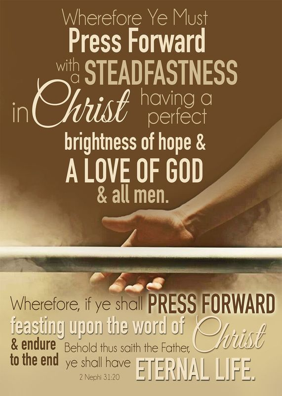 2016 LDS Youth Theme. FREE Printables. Press Forward With a Steadfastness in Christ