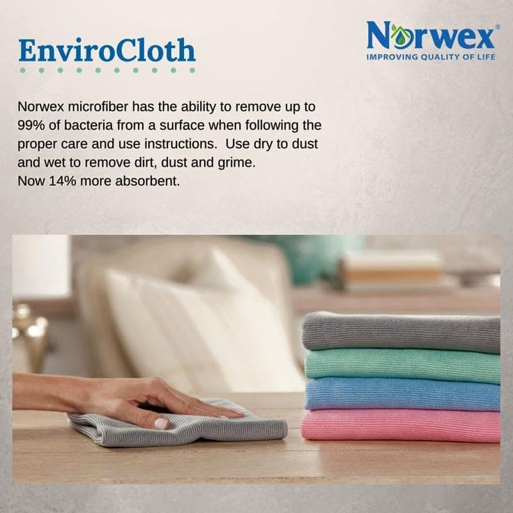 Wow! The new Norwex microfiber is even better! [video]