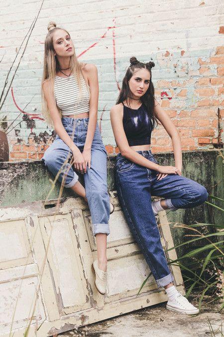 The Mom Jeans Escuro