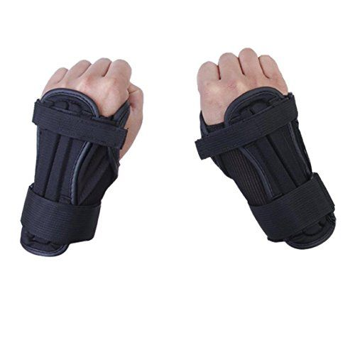 Padded Shorts - Glield Adjustable Over Wrist Guards Protection for Skiing Skateboard Roller Skating HXHS02 >>> Read more reviews of the product by visiting the link on the image.
