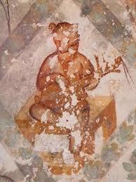 pintura mural qusayr amra