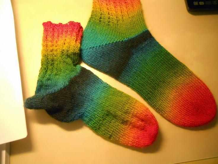Cecilias handarbetskorg: Sticka sockor med mig! KAL