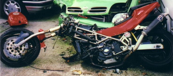 What happens when a Ducati 888 meets a Nissan Micra!