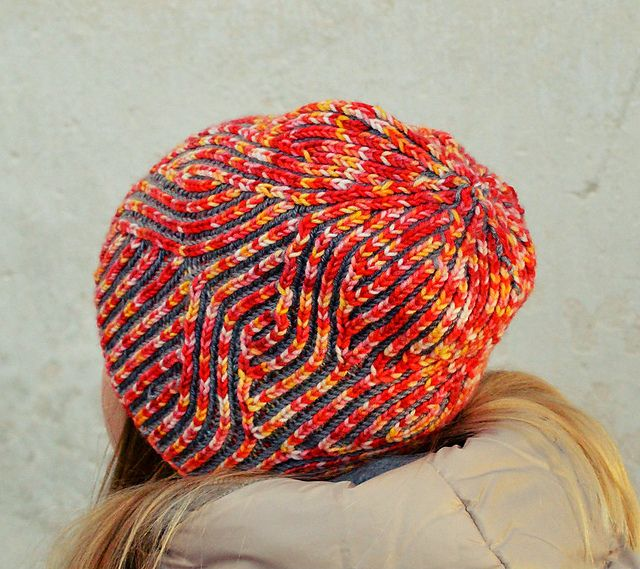 Brioche Beret Knitting Pattern : 17 Best images about Knitting Brioche on Pinterest Nancy dellolio, Pon...