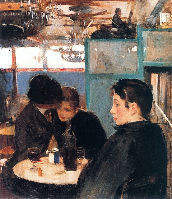 Casas, Ramon (1866-1932) - Interior of the Moulin de Galette (Paris)
