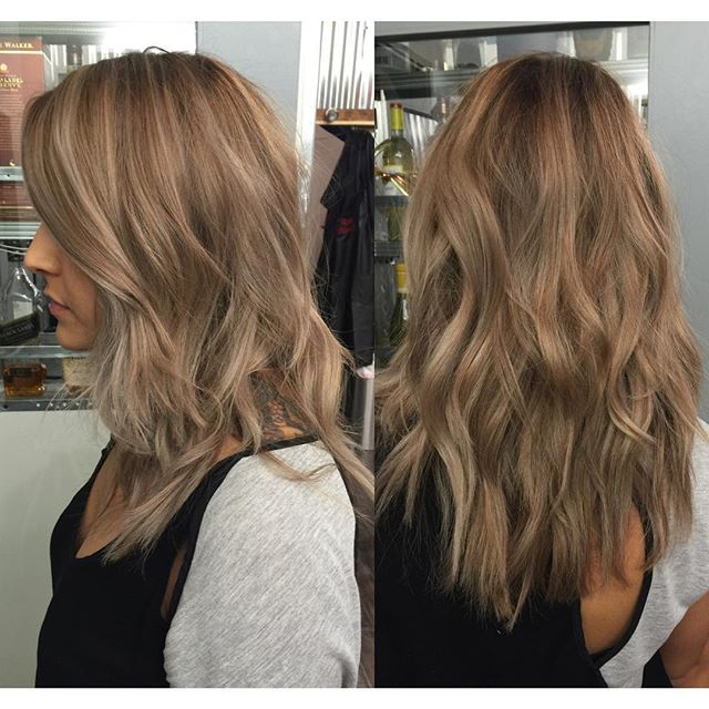 Medium Ash Blonde With Highlights Google Search Beauty