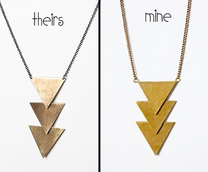 geometric-triangle-necklace-gold