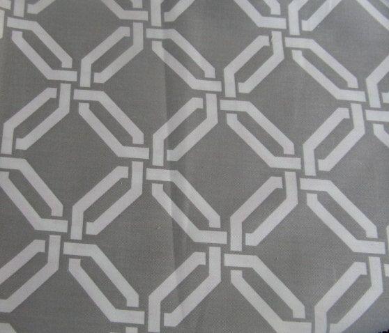 Gray Lattice Fabric For Bedroom Curtains Master Bedroom