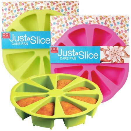 """""""just a slice cake pan"""" I wanna try using this!"""