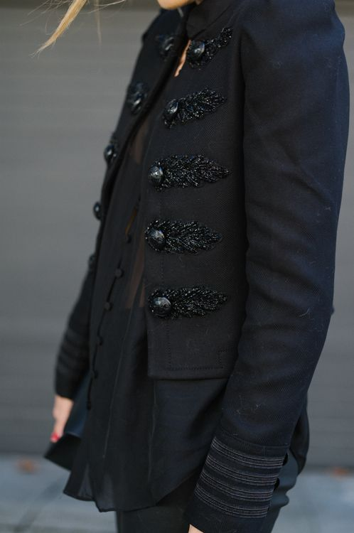 Gal Meets Glam Express Edition Jacket Details