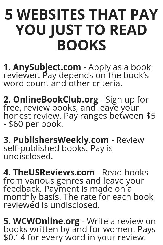 5 Websites That Pay You Just To Read Books Wisdom Lives Here