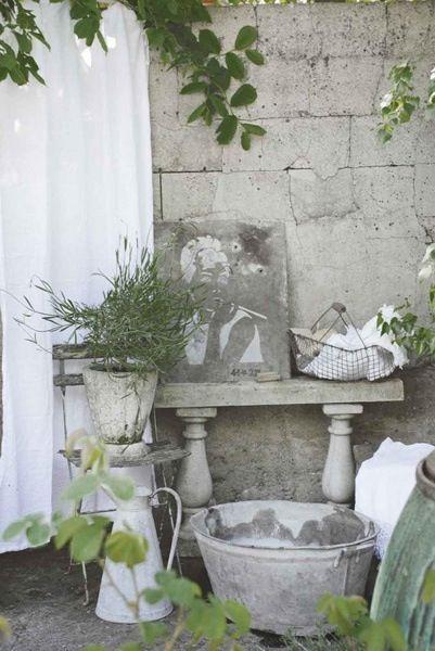 shabby chic tin pinterest. Black Bedroom Furniture Sets. Home Design Ideas