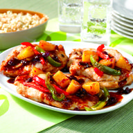 Caramelized Chicken And Pineapple | Entree/Main Dish | Recipes | Dole Packaged Foods