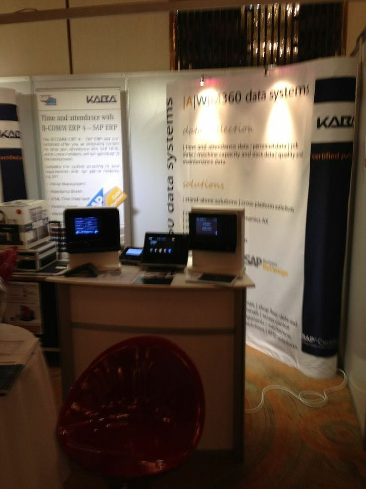 Exhibition stand at Mastering SAP