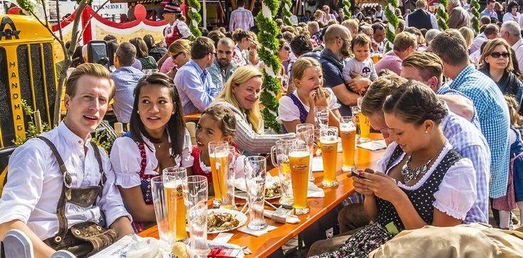 NOU!!! Hai la Oktoberfest 2017 in Munchen