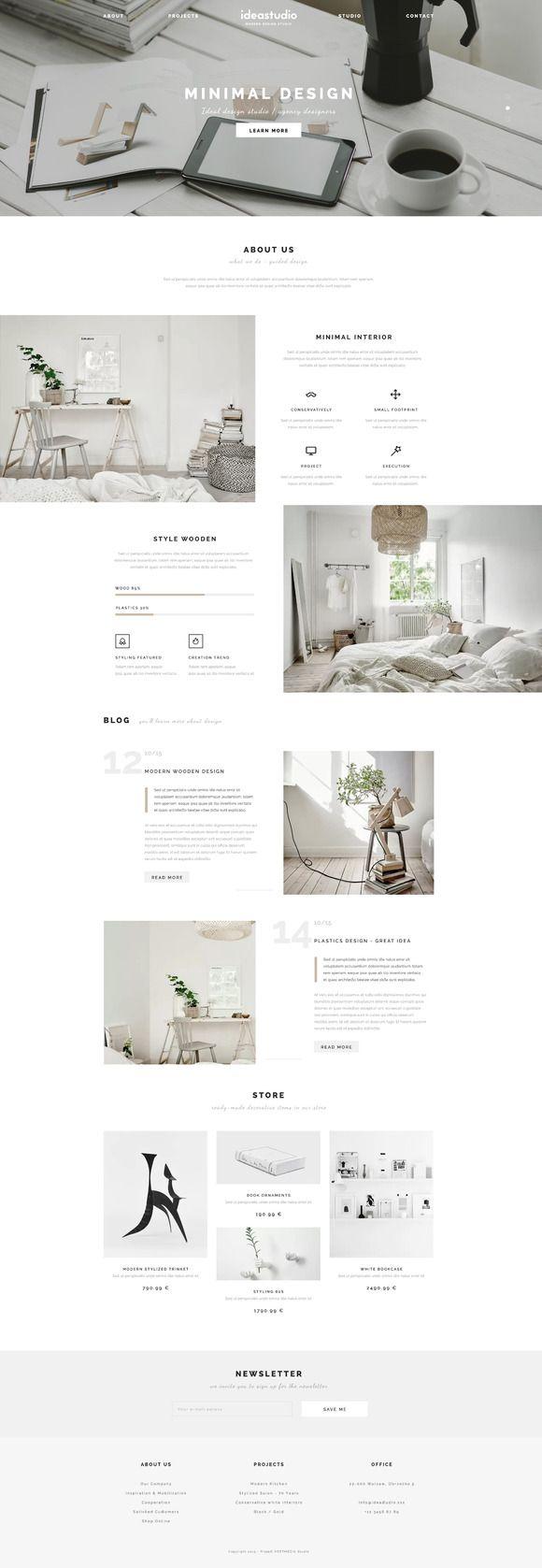 IdeaStudio- Best PSD Template @creativework247