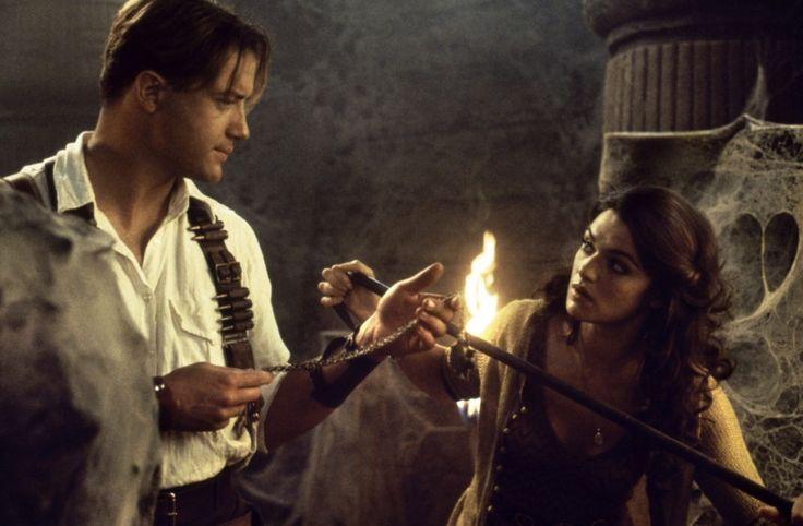 Brendan Fraser and Rachel Weisz in The Mummy Returns (2001).