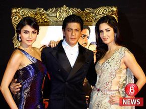 Shah Rukh Khan talks about teaming up with Katrina Kaif and Anushka Sharma again