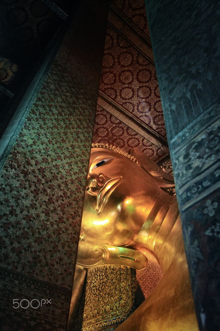 The Reclining Buddha - Wat Pho : Known also as the Temple of the Reclining Buddha , Bangkok : Thailand