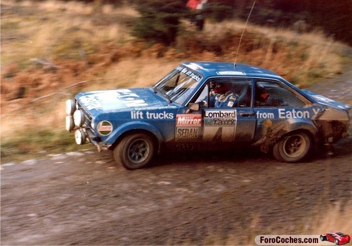 Hannu Mikkola en el RAC Rallye 1979