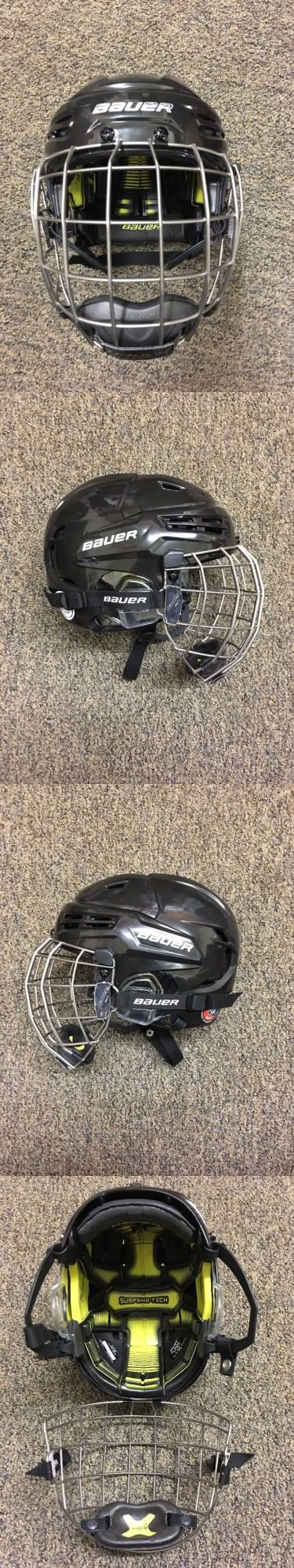 Helmets 20854: Bauer Re-Akt Hockey Helmet Combo Black Size Small *New* Rodeo Bull Mutton Buster -> BUY IT NOW ONLY: $249.99 on eBay!