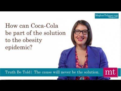 Popping The Top Of CocaCola's Healthwashing Campaign | Meghan TV