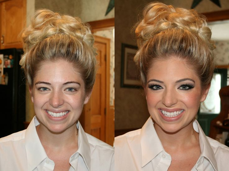 Airbrush Bridal Makeup Before And After : 25 best images about Our Work - Before and After on ...