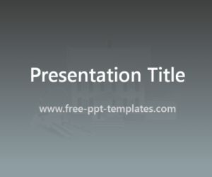 Real Estate PowerPoint Template is a grey template which you can use to make an elegant and professional PPT presentation. This FREE PowerPoint template is perfect for the presentations of real estate companies.