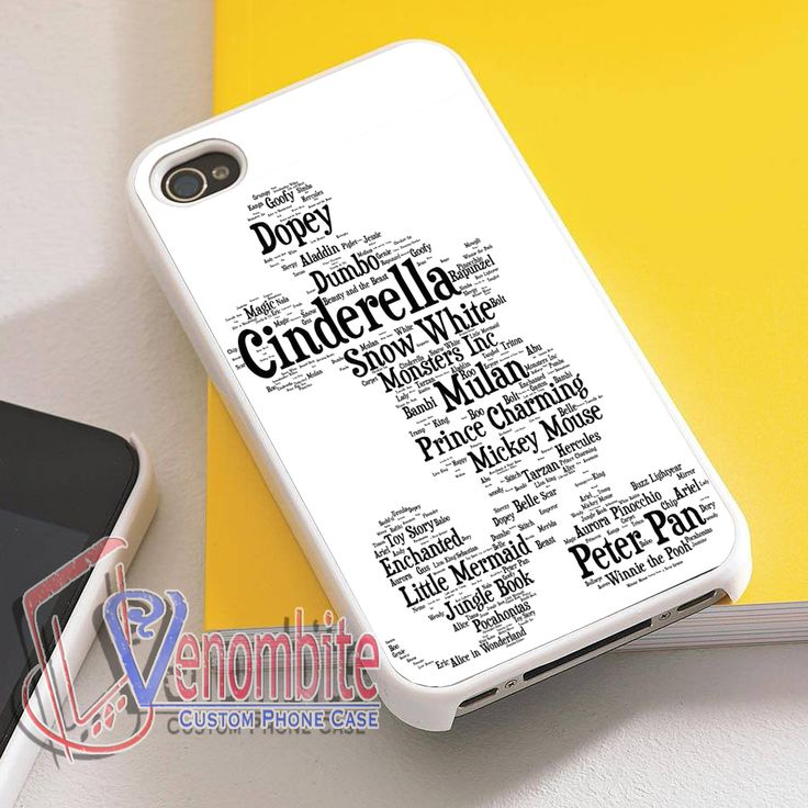 Disney Quotes Phone Case For iPhone 4/4s Cases, iPhone 5 Cases, iPhone 5S/5C Cases, iPhone 6 cases & Samsung Galaxy S2/S3/S4/S5 Cases