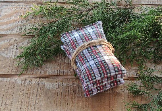 Compliment your Rustic or Cottage Chic home décor with this set of 3 balsam or lavender filled sachets. They smell as heavenly as they look. Made by myself and packed full of Maines finest balsam the fragrance last for a long time.  Lavender and balsam have been recognized as having healing effects. The aroma is sweet and pleasant creating true aroma therapy whereever you choose to use it  Tuck in a basket in a guest room to comfort your weary guests. Makes the perfect stocking stuffer and…