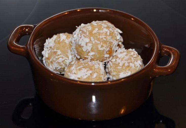 A B C vos IG: Truffes coco cajou parfumées au citron (IG bas)