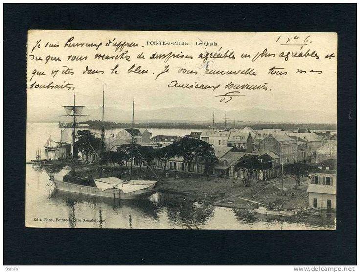 Cartes Postales / pointe à pitre voilier - Delcampe.fr