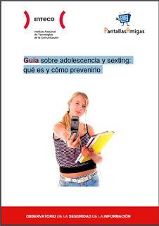 Guía sobre adolescencia y sexting: qué es y cómo prevenirlo. PDF para descargar, gratis | Libros y recursos gratuitos para educar