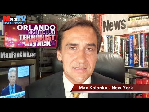 Orlando Terrorist Attack  - Masakra w Orlando - Max Kolonko Tells It Lik...