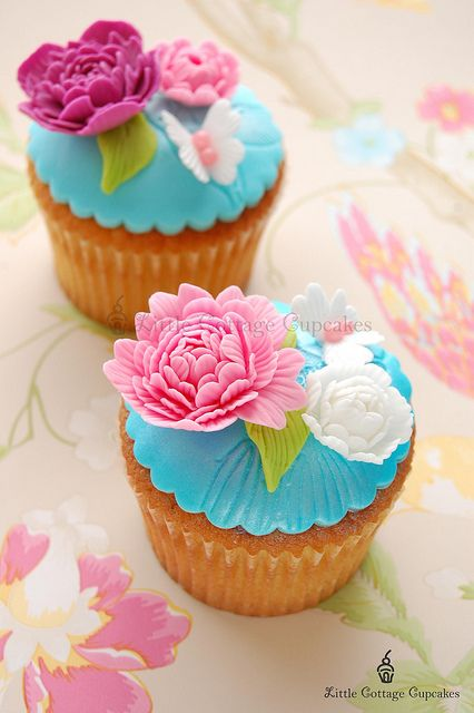 Pink beauty! by Little Cottage Cupcakes, via Flickr