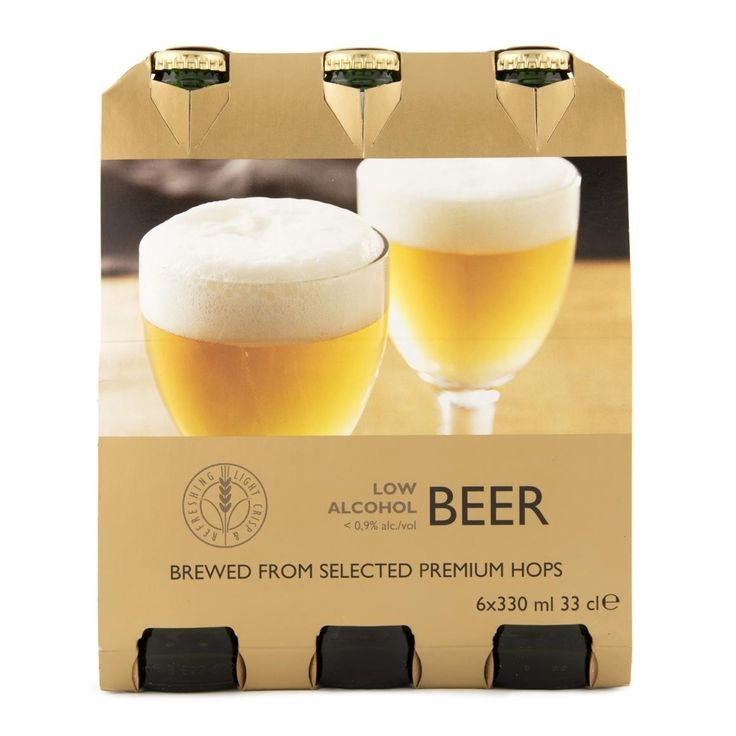 Low Alcohol Beer 6x330ml