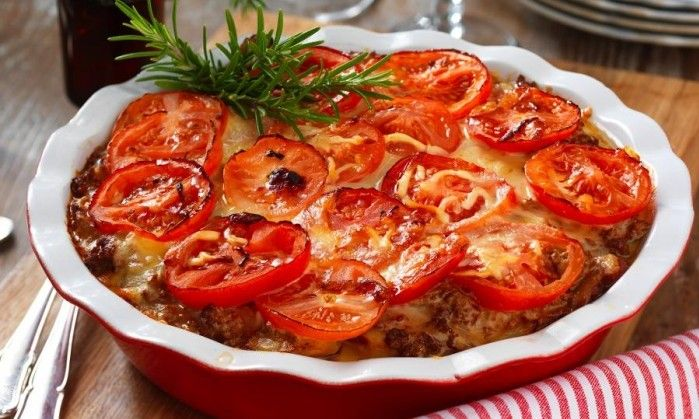 Currydoftande köttfärsgratäng som är enkel att förbereda och sköter sig själv i…