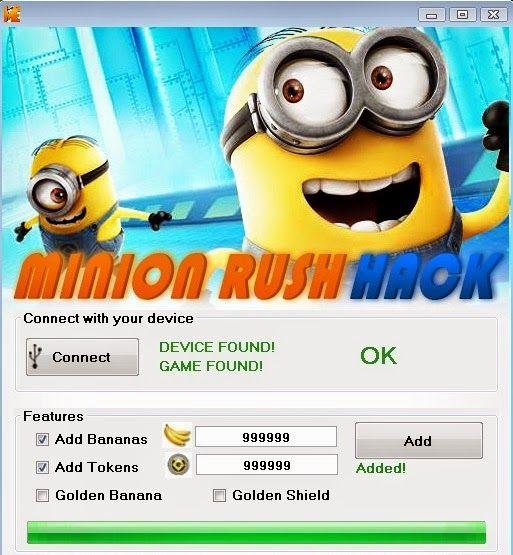 Despicable Me Minion Rush Hack download online, Full version of Despicable Me Minion Rush Hack no survey. Get Despicable Me Minion Rush Hack updated Despicable Me Minion Rush Hack. Working Despicable Me Minion Rush Hack                                                                                                                                                                                 More