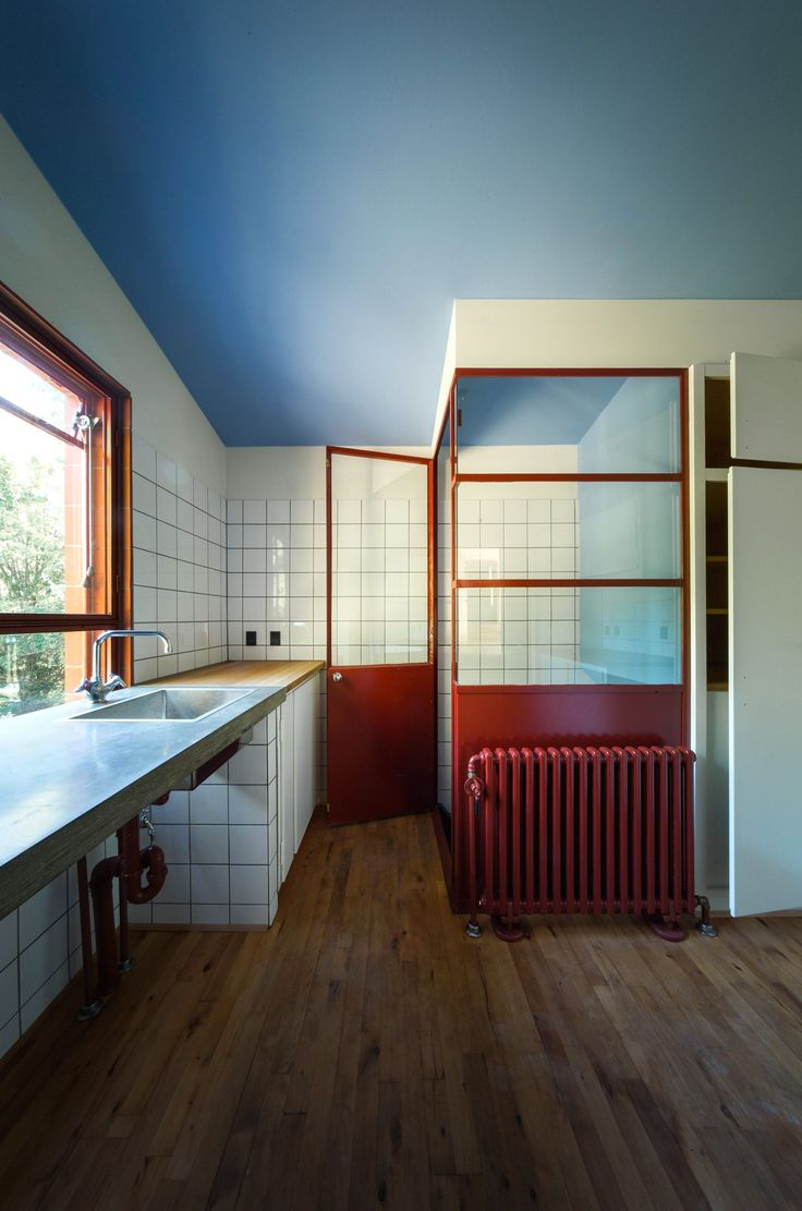 Danish functionalist Poul Henningsen's home. Designed by Henningsen in 1937 for his family and located outside Copenhagen.