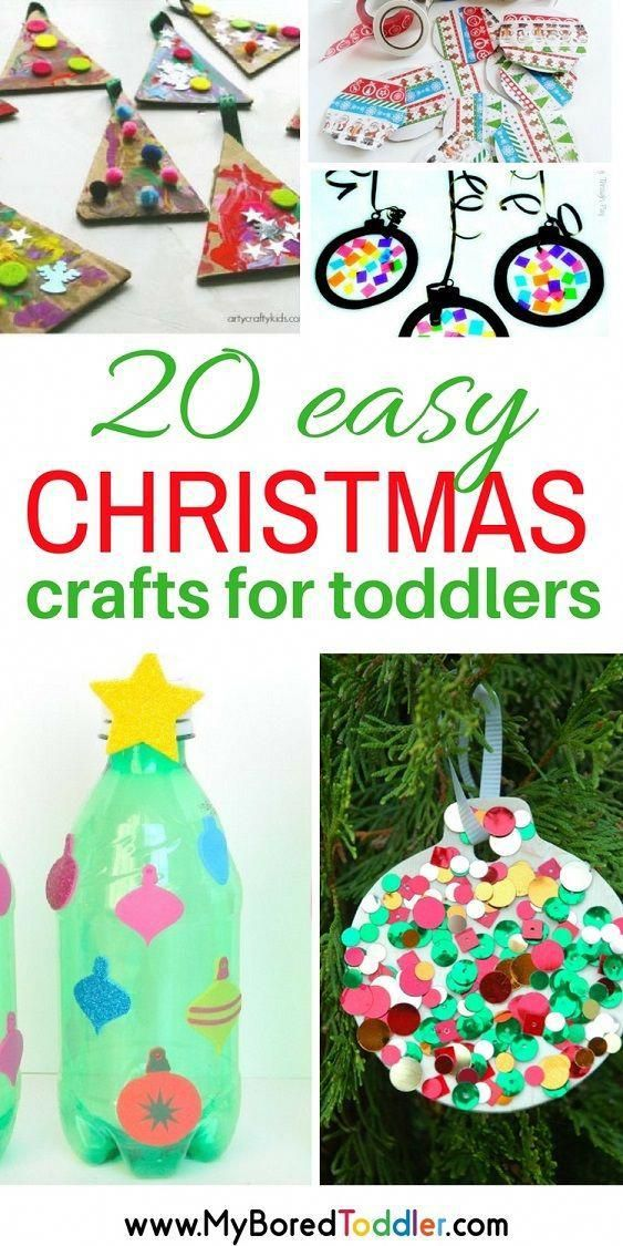 Easy Christmas Crafts For Toddlers Christmas Activities For 1 2