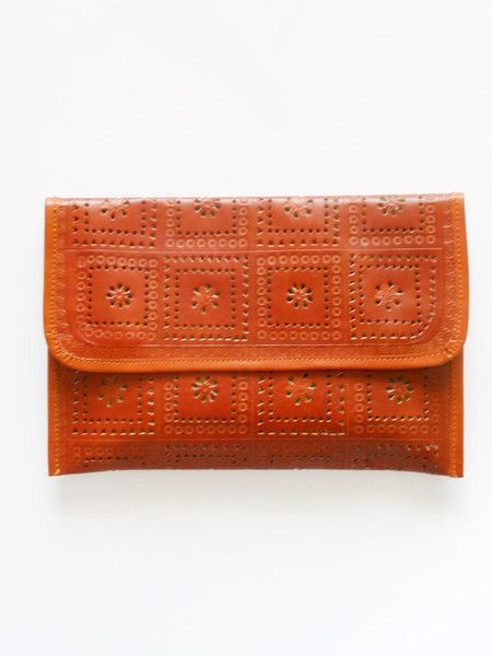 Floral Leather Clutch | 4 All Humanity