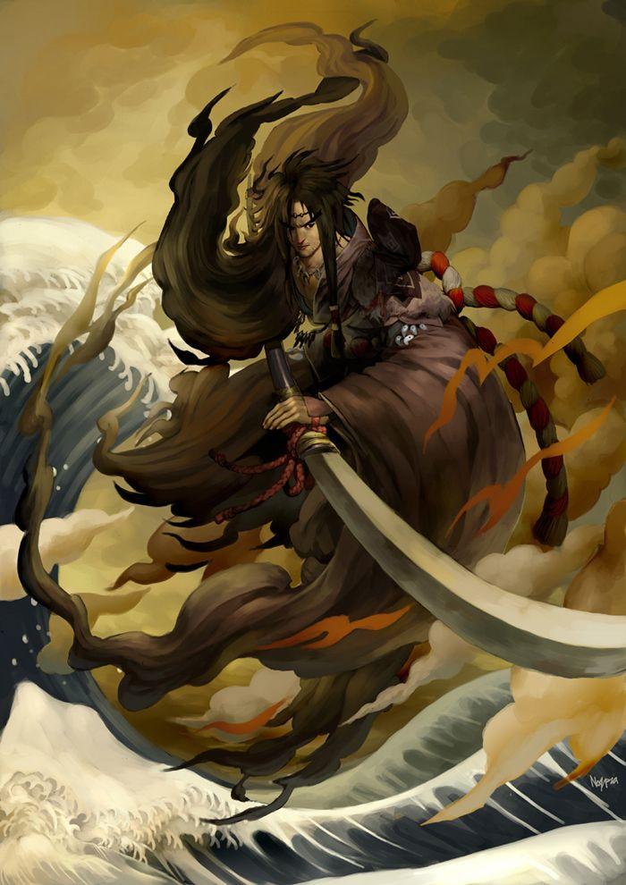 Izanagi - Shinto god of the sky | Japanese Mythology ...
