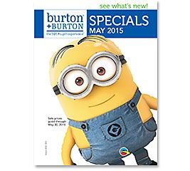 MAY SPECIALS 2015 #burtonandburton