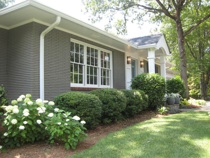 Best 10 Painted Brick Ranch Ideas On Pinterest Painted Brick Exteriors Painted Brick Houses And Brick Ranch