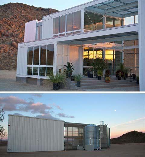 Shipping Container Home & Studio: Desert Green